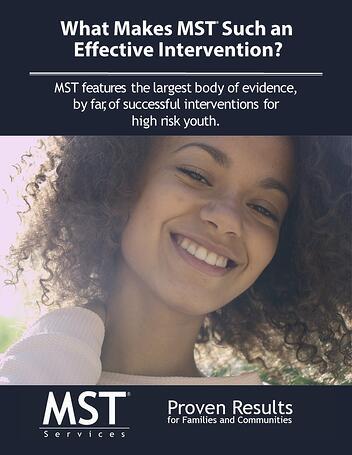 Report - What Makes MST an Effective Intervention 1